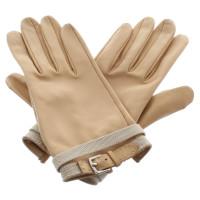 Hermès Gloves in beige