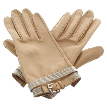 Hermès Gloves in beige