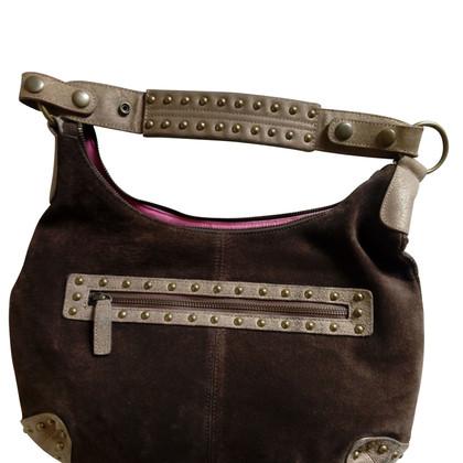 Just Cavalli Suede & Pony hair handbag