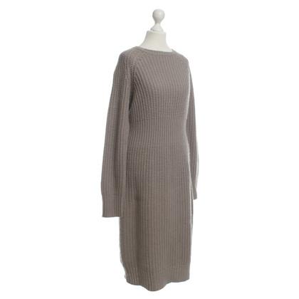 Andere merken Wollen jurk van taupe