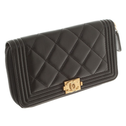 Chanel Wallet in black