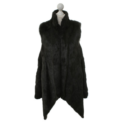 Other Designer DNA - fur vest in black