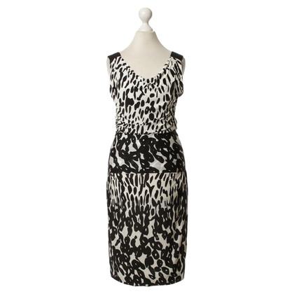 Max Mara zwart en witte jurk