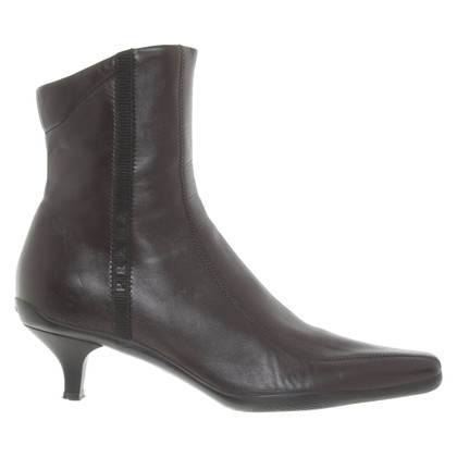 Prada Ankle boots made of smooth leather