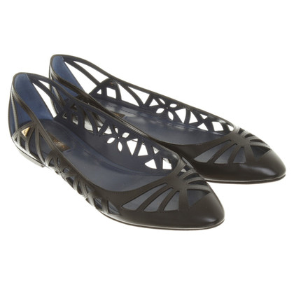 Louis Vuitton Ballerinas mit Cut Outs