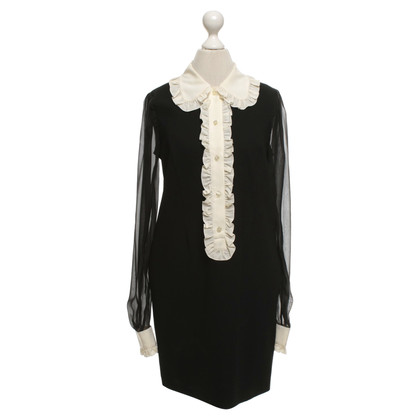 D&G Dress in black / cream