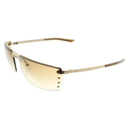 Christian Dior Sonnenbrille mit Sternen-Applikation