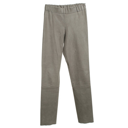 Other Designer Chacky & Jones - leather pants in gray