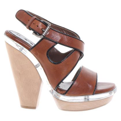 Marni Sandaletten aus Leder