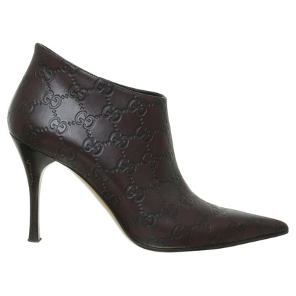 Gucci Ankle boots Gucci Sima embossed