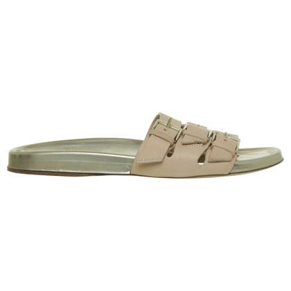 Longchamp nude sandaal