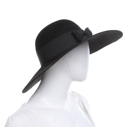 Saint Laurent Hat in black