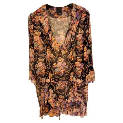 Anna Sui Mini robe de soie