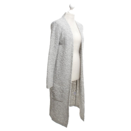 Bloom Knitted coat in grey