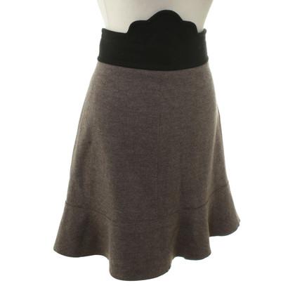 Sonia Rykiel Wool mini skirt