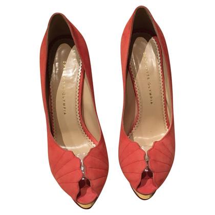 Charlotte Olympia Peep-dita dei piedi