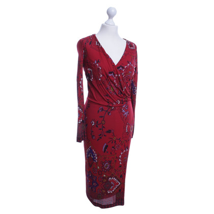 Etro Dress in red floral print