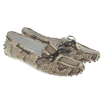 Tod's Snake leather loafer