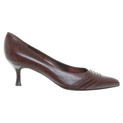 Salvatore Ferragamo Braune Pumps