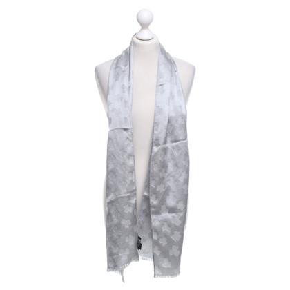 Armani Scarf in silver gray