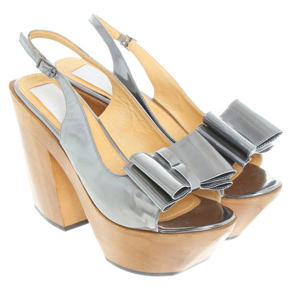 Lanvin Sandals in silver