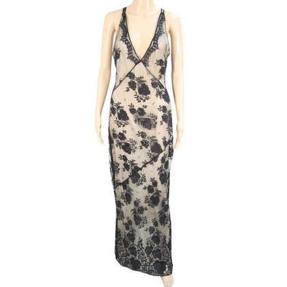 Karen Millen Long dress with lace trim
