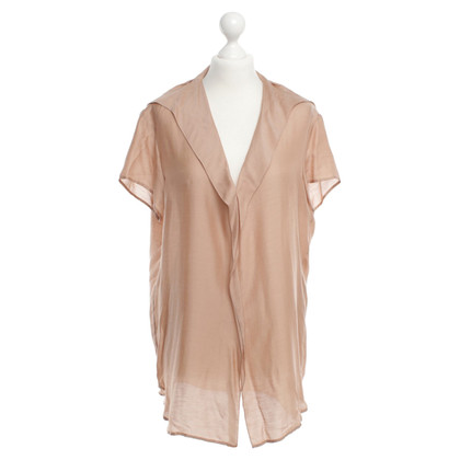 Lanvin Oversized Top in nude