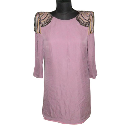 Tibi Silk dress with shoulder pads