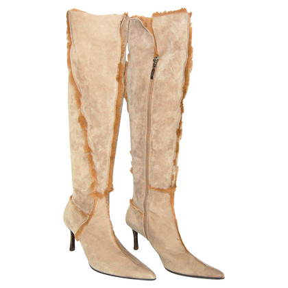 Cesare Paciotti Boots with fur