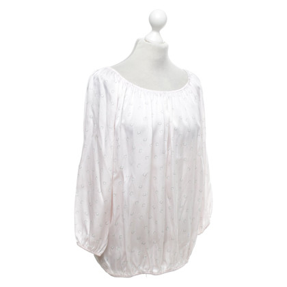 Repeat Cashmere top made of silk