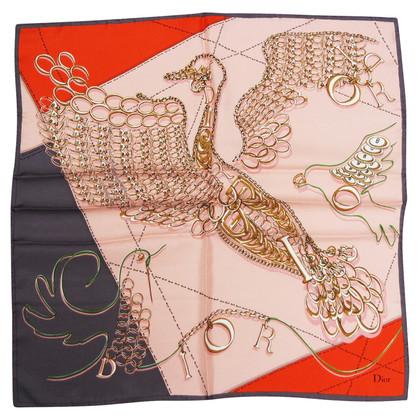 Christian Dior DIOR twill silk scarves