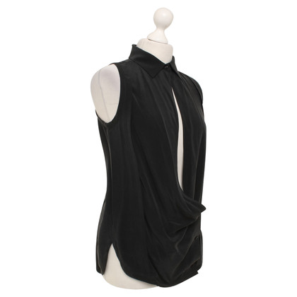 Vanessa Bruno blouse de soie en noir