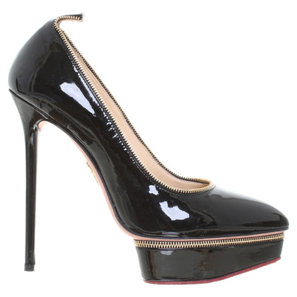 Agent Provocateur High heels with plateau in black