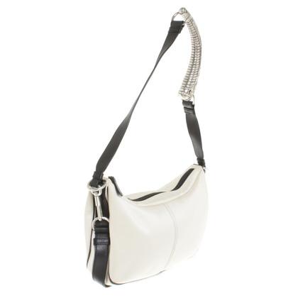 Yves Saint Laurent Shoulder bag in black and white