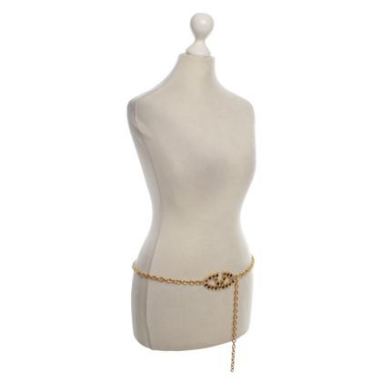 Valentino Cintura con catena oro