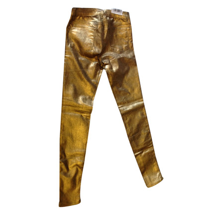 J Brand Gold-colored jeans