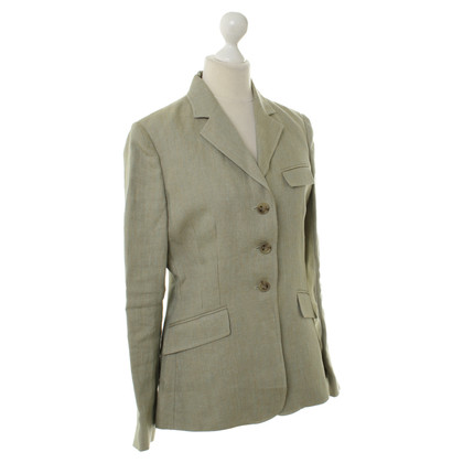 Ralph Lauren Blazer di lino oliva