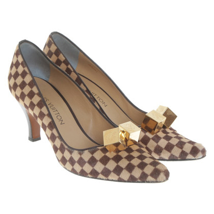 Louis Vuitton Pumps mit Ponyfellbesatz