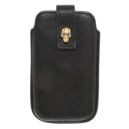 Alexander McQueen IPhone Case in Black