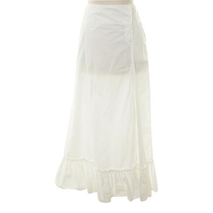 Patrizia Pepe Maxi-skirt in white