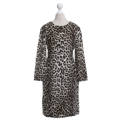 Rag & Bone Seidenkleid mit Animal-Print