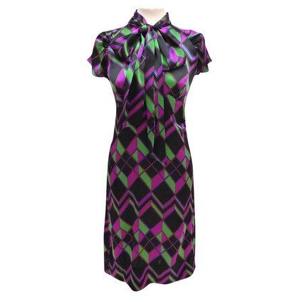 Diane von Furstenberg Empire-style silk dress
