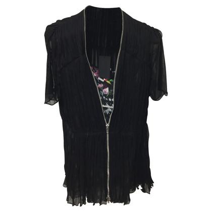 McQ Alexander McQueen zijden jurk
