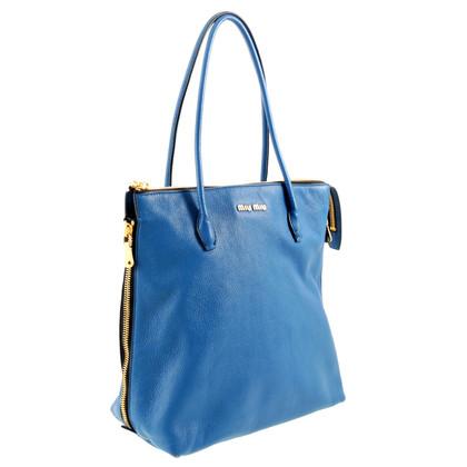 Miu Miu Tote Bag in blu