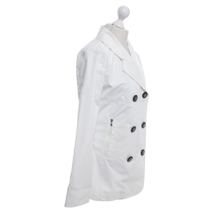 Armani Raincoat in white