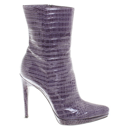 Casadei Ankle boots in reptile look
