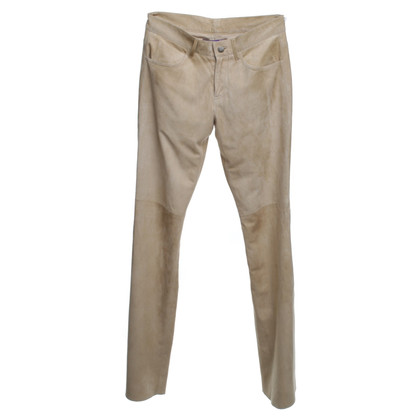 Ralph Lauren trousers made of soft suede