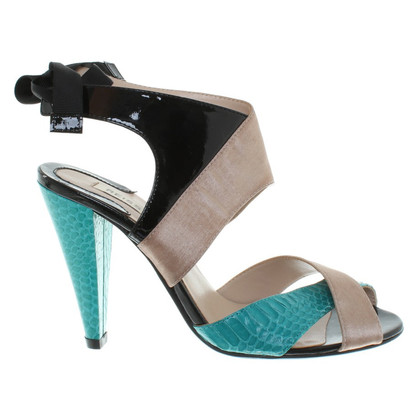 Reiss Sandals in Bicolor