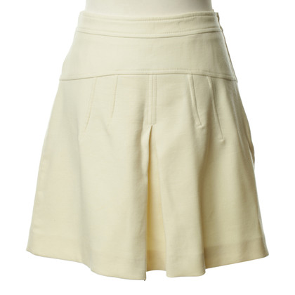 Red Valentino A Linienförmiger skirt in cream
