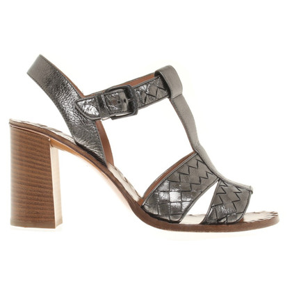 Bottega Veneta Silver colored sandals